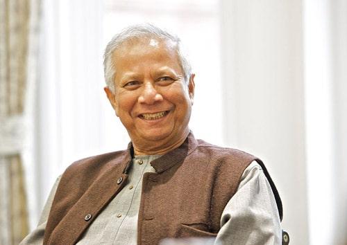 Muhammad Yunus smiling on http://servetoleadgrp.wpengine.com