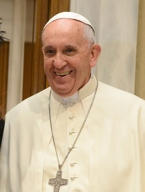 Pope Francis smiling on http://servetoleadgrp.wpengine.com