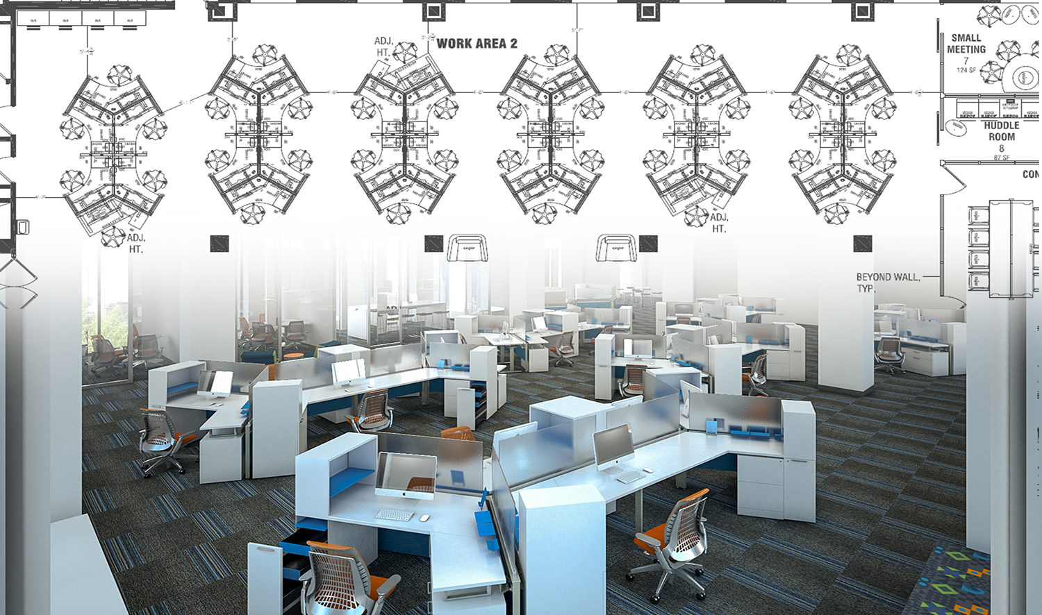 Office Furniture Dealers The Cad Space Planning Process
