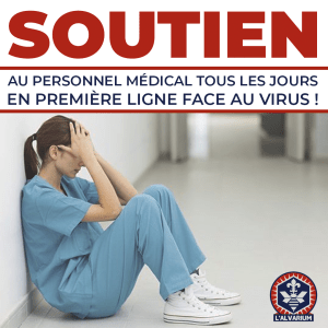 soutien au personnel medical