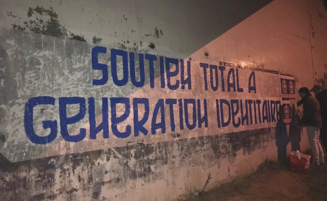 SOUTIEN À GÉNÉRATION IDENTITAIRE