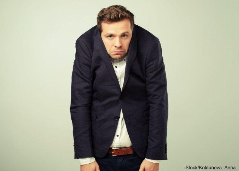 Kulanz - Beitragsbild - Mann zuckt mit den Schultern