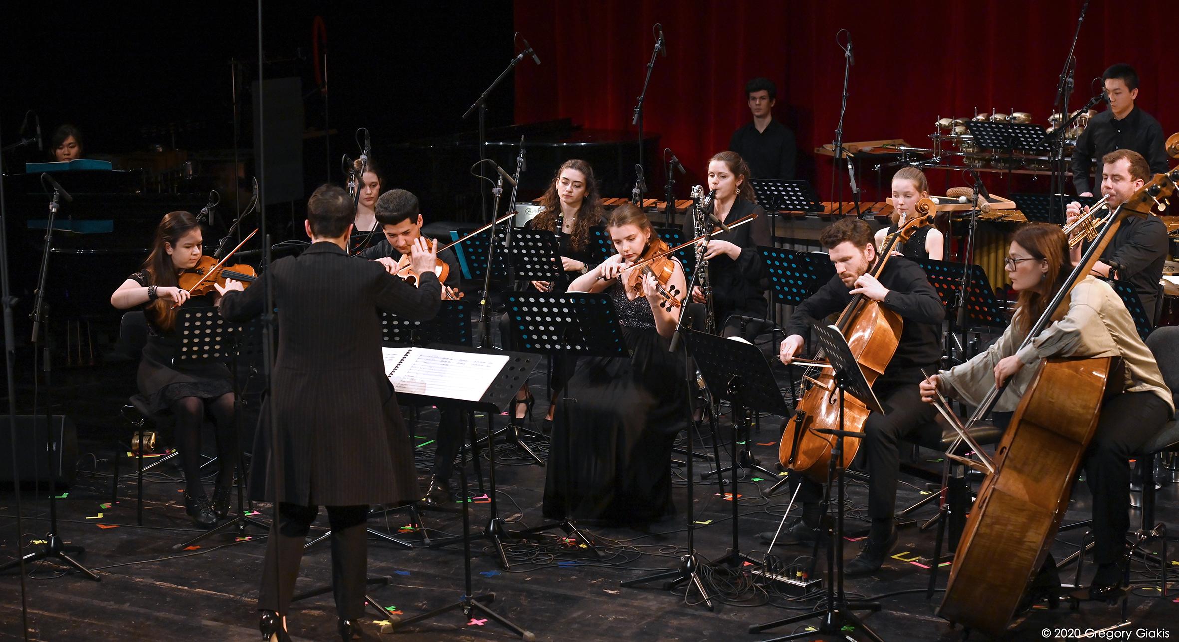 Ensemble Oktopus. Foto: Gregory Giakis