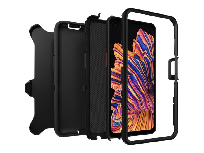 Otterbox Samsung Defender Galaxy Xcover Pro Black Pro Pack 77 65235
