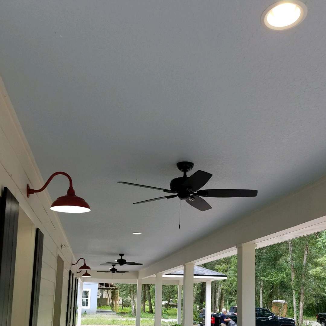 Fan Installation Ponce Inlet