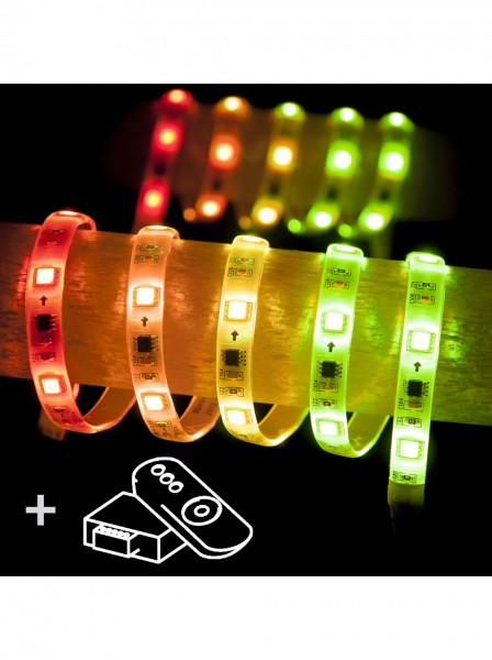 lampu led warna warni