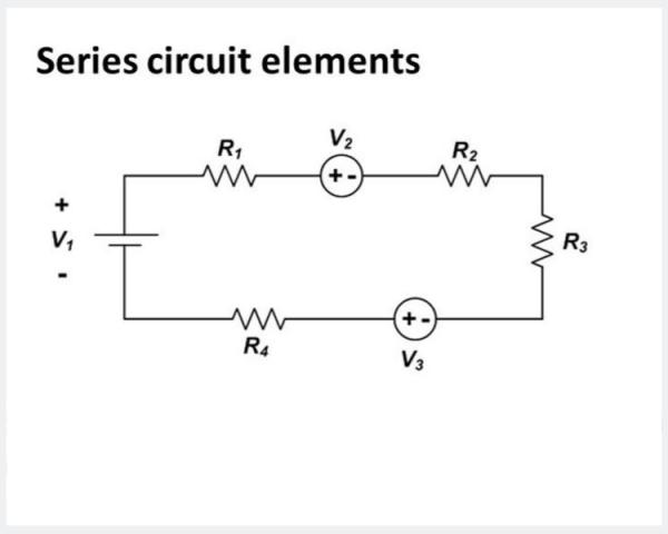rangkaian seri elektronika