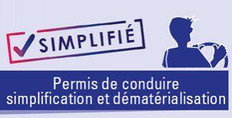 Demande en ligne de permis de conduire : Perte, vol ou détérioration du permis