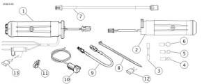 Heated grip connectors  Harley Davidson Forums: Harley