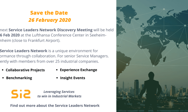 Next Service Leaders Network Discovery Meeting on 26 Feb 2020