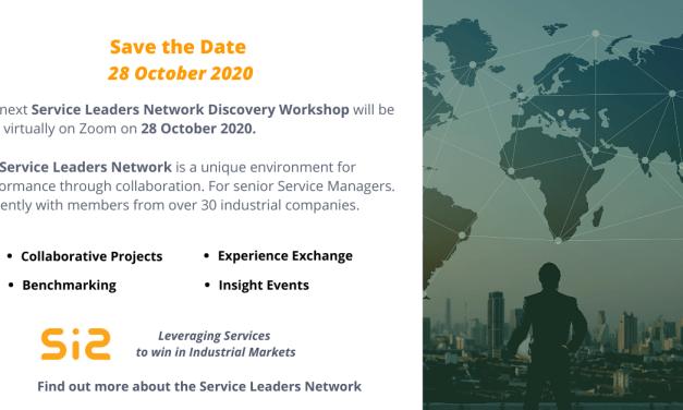 Next SLN Discovery Workshop 28 October 2020