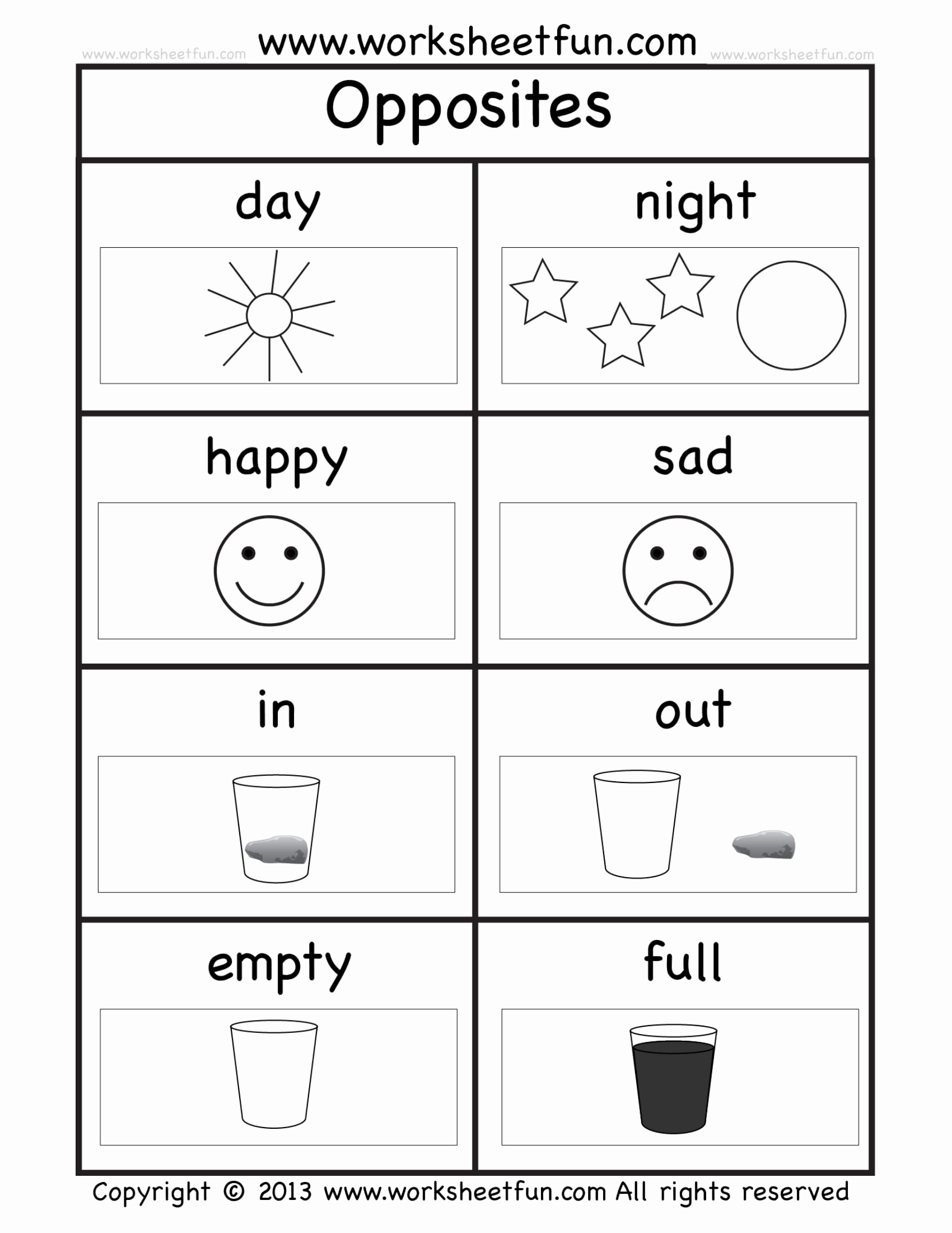 Kindergarten Exercise Worksheet For Free And 8