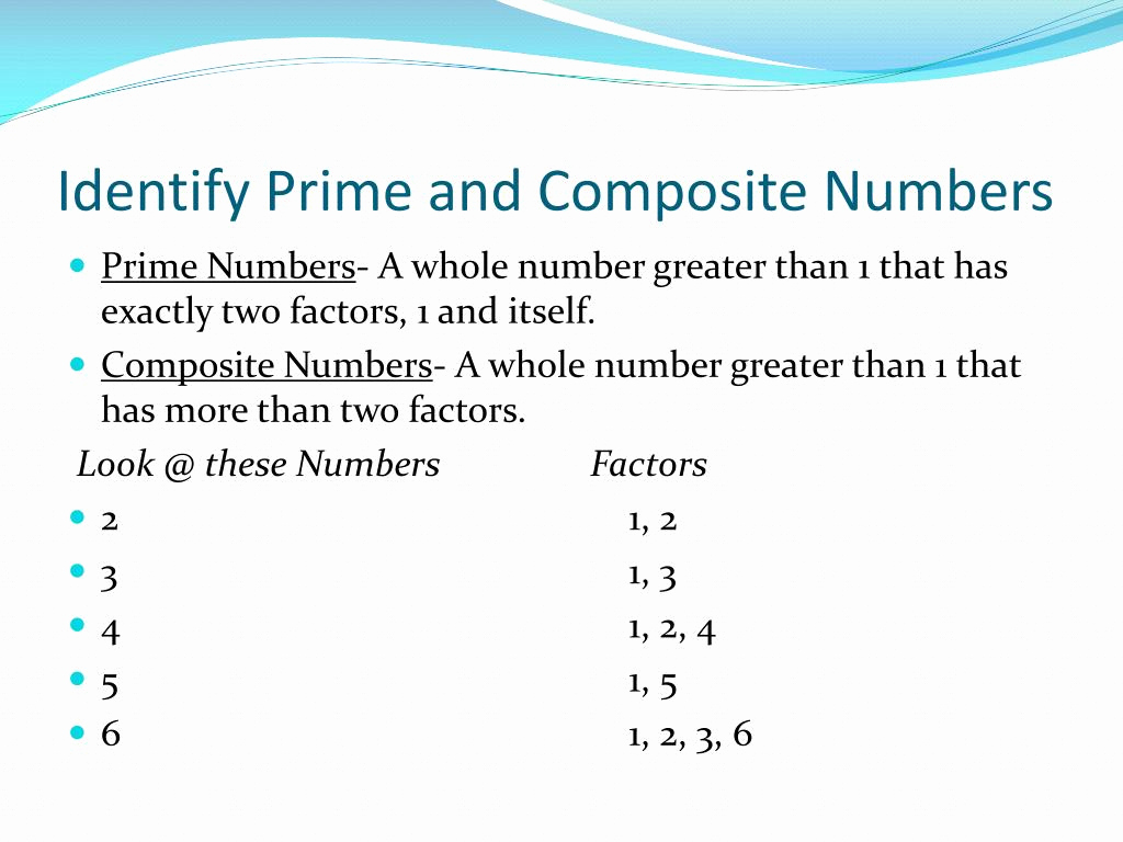 Prime And Composite Numbers Quiz Servicenumber