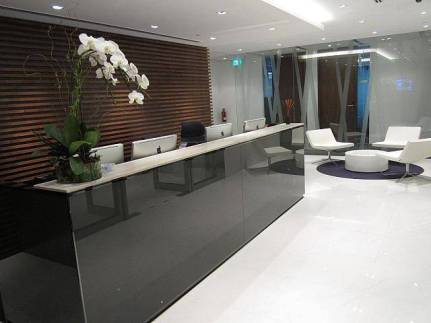 Reception of Singapore Land Tower