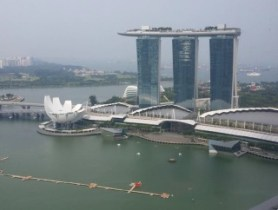 Singapore Land Tower Suites with MBS View