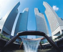 Suntec Tower 2 with fountain of wealth