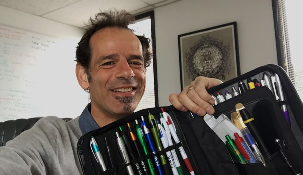 stephane boss branded pens promotional products bydfault