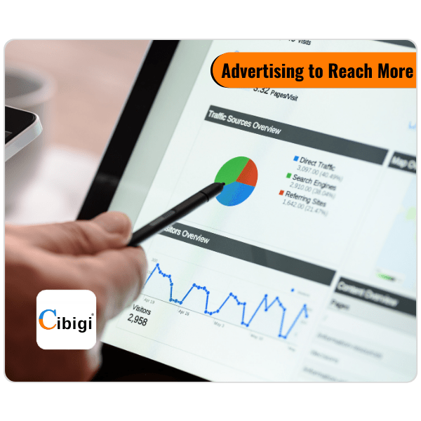 Cibigi Advertising to Reach More