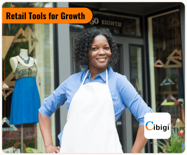 Sell Online from your Retail Store with Cibigi Services