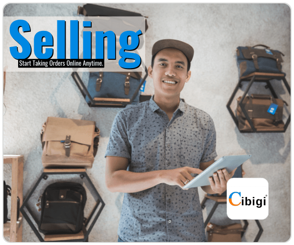 Start Taking Orders Online Anytime Sell Online With Cibigi Services