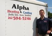 Alpha Heating & Cooling logo