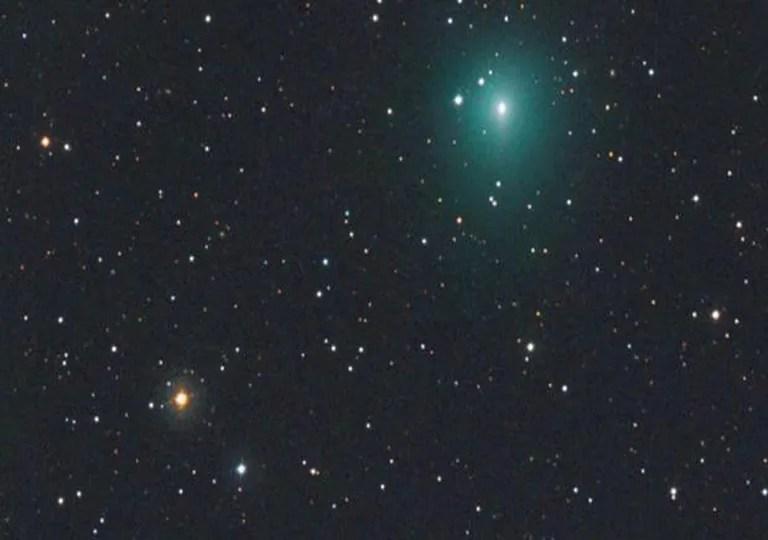 Comet, Atlas, Sky, Astronomy