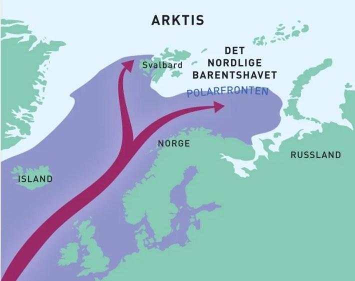 Cambio climático Ártico Atlántico