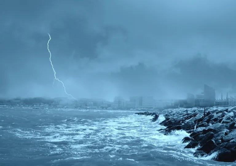 Maritime storm