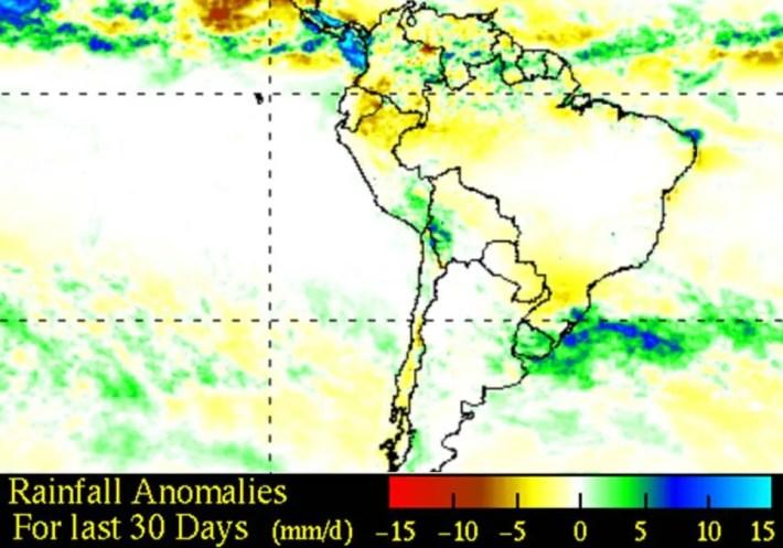 TRMM Precipitación