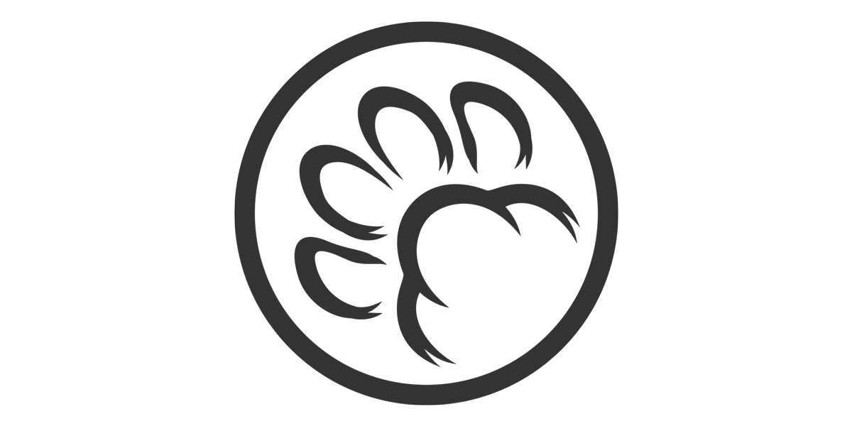 Nekonook Services Cat's Paw Logo (2018) | I wanted something simple that represented the Neko (cat) of Nekonook and could serve as a signature of sorts.
