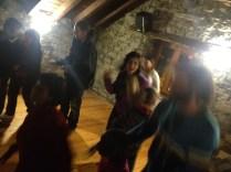 El baile lo intercalábamos entre juegos y actuaciones.