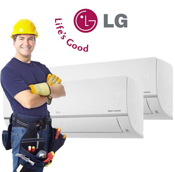 Reparación aire acondicionado LG Tenerife