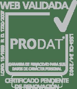 sello validacion web
