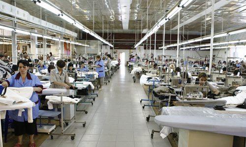 Fabrica textile din Munchen, Germania