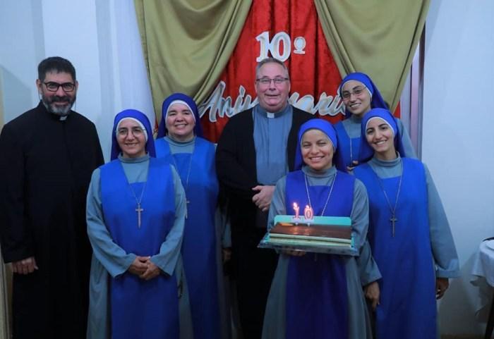 """10 años de fundación la comunidad """"Nuestra Señora de las Angustias"""", en Granada, España"""