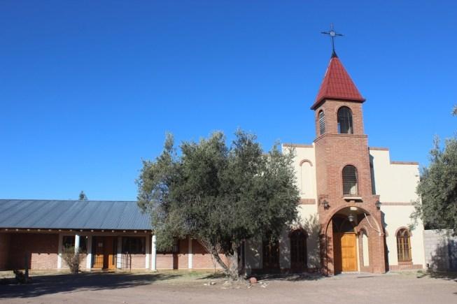 """Actual Monasterio """"Santa Teresa de los Andes"""""""