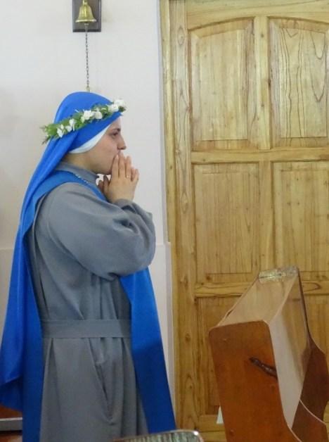 profesión perpetua la hermana María della Vallicella