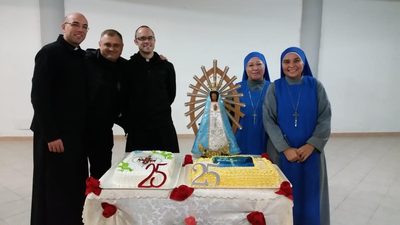 25 años de la llegada de nuestra Familia Religiosa a Sezze