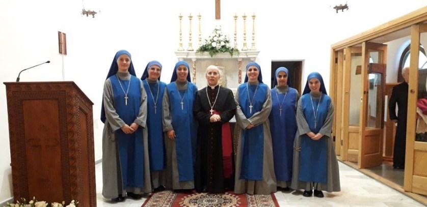 Nueva Fundacion en Cerdeña Monasterio