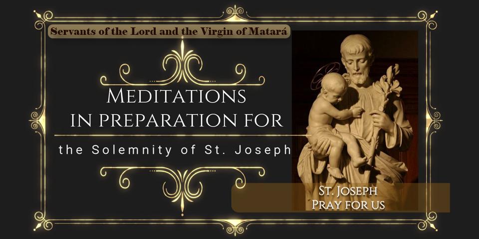 Meditations for the thirty days Prayer to St. Joseph