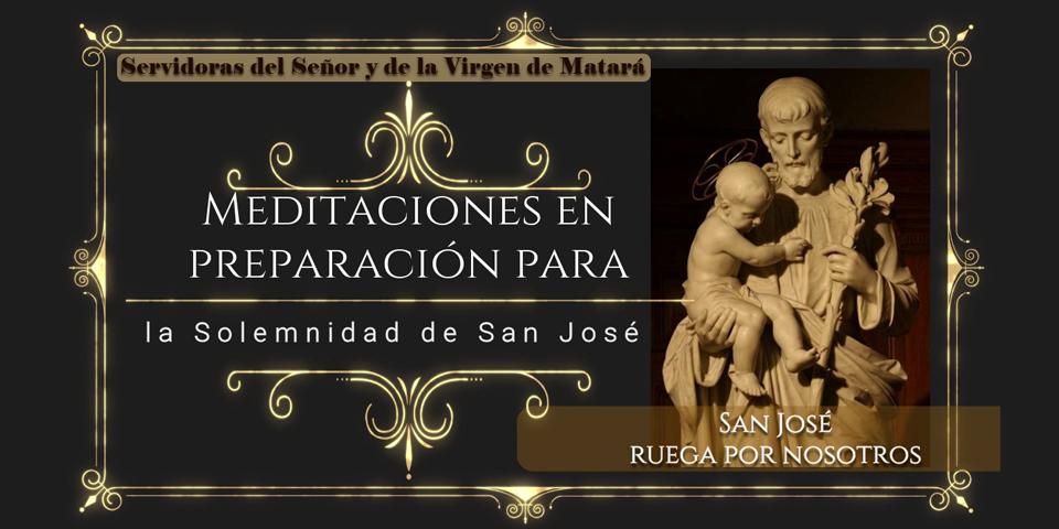 Meditaciones para la Treintena a San José - Servidoras