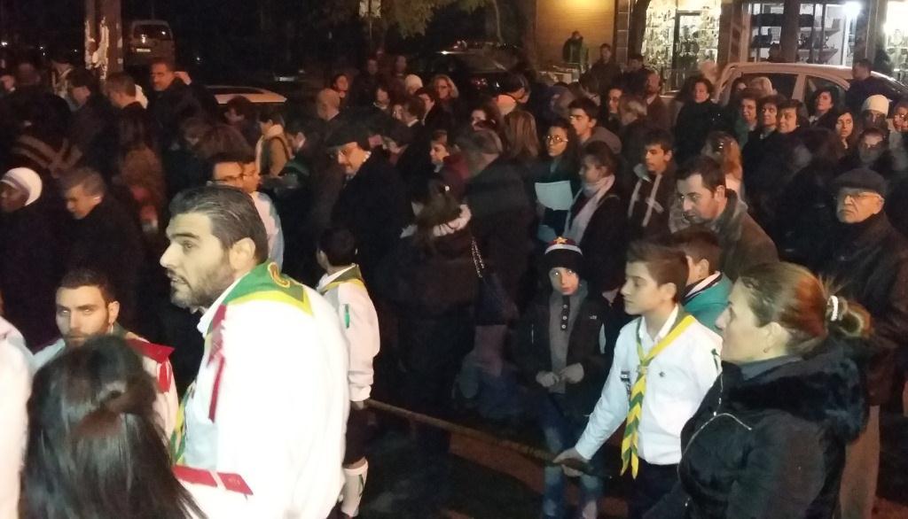 Servidoras Apertura dell'Anno della misericordia ad Aleppo