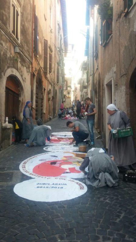 Festa del Corpus Domini - Segni, Italia