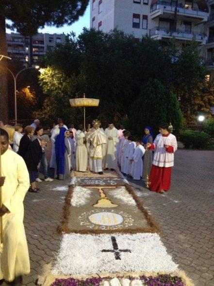 Festa del Corpus Domini - Roma, Italia