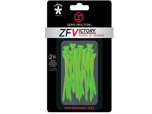TEES ZERO FRICTION VICTORY PRONG