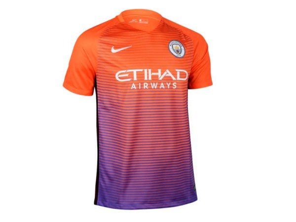 Mannchester city CAMISETA DEL MANCHESTER CITY ANARAJADA