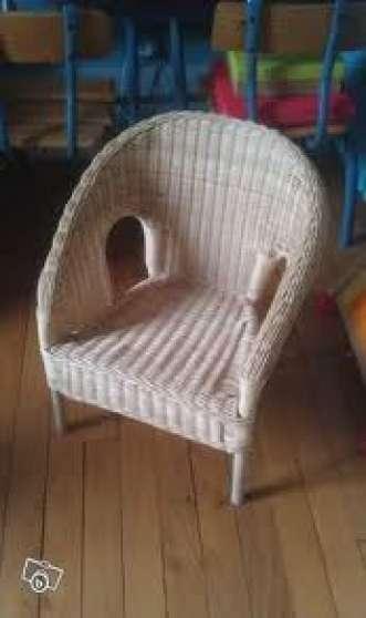 fauteuil enfant ikea en rotin marche fr