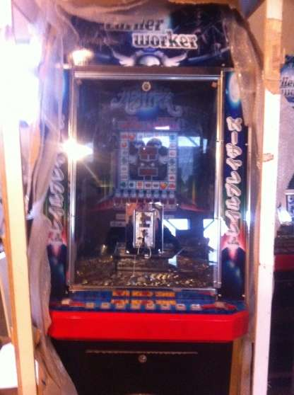 Pousse Piece Cascade Coin Pusher Automate Juke Box