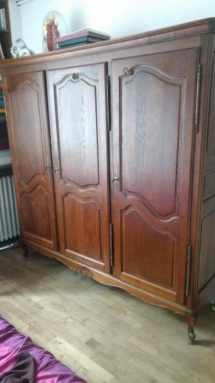 armoires ancienne 3 portes bois massif
