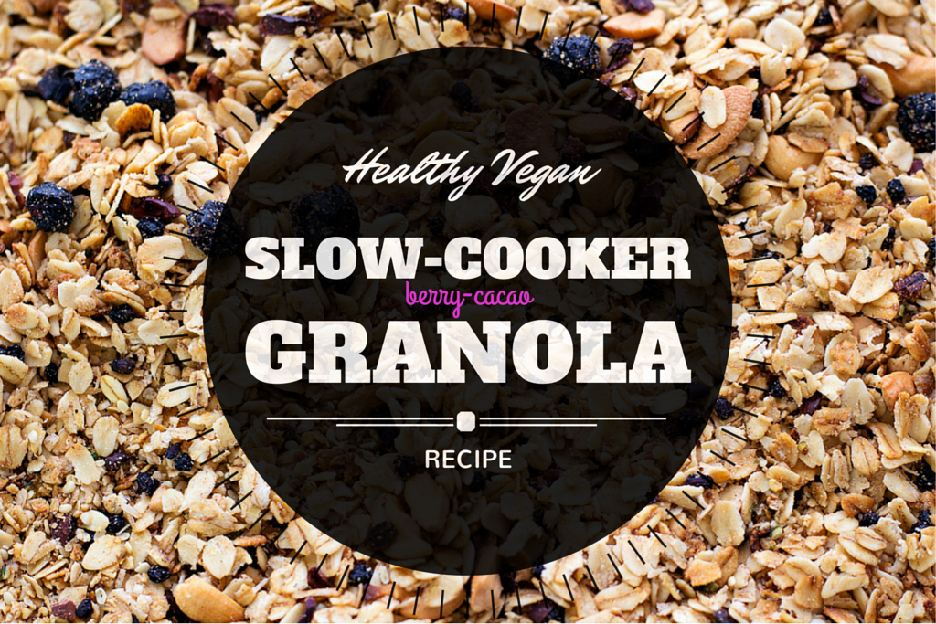 Homemade Granola Recipe (using a Slow-Cooker!)